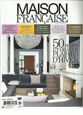 MAISON DE FRANCAISE, DECEMBRE, 2012 / JANVIER,2013 ( 50 PETITS ET GRANDS PLAISR