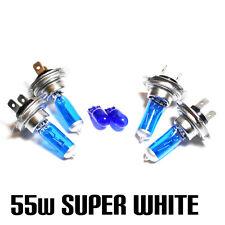 Audi A4 B6 1.9 H7 H7 501 55w Super Blanco Xenon Hid main/dip/side bombillas Kit