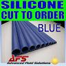 Coupe Bleu 6mm I. D. Pouce Droit Tuyau Silicone Venair Silicone Radiateur Tuyau