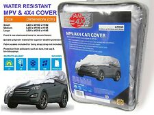 WATER RESISTANT MPV & 4x4 CAR COVER **LARGE SIZE** L500 x W210 x H195cm