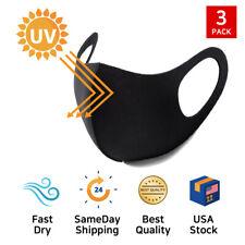 Zishen 3PCS ATB+UV Protection Washable Stretchable Face Mask / Fast Dry