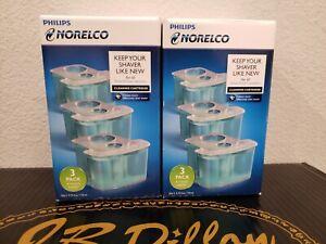 Philips Norelco JC303/52 SmartClean Cartridge - 3 Count C6 (2X)