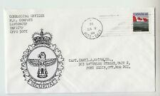 1992 CYPRUS CANADA ARMY Cover COMMANDING OFFICER COMP.CANCONCYP UNFICYP 5001-O17