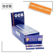 Ocb 2500 Cartine Ultimate Corte Doppie Box Da 25 Libretti