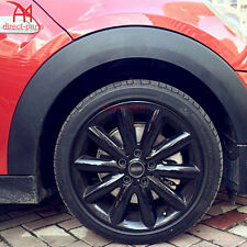 BLACK RUBBER WHEEL RIMS PROTECTOR CAR VEHICLE TIRE GUARD LINE MOULDING 22""
