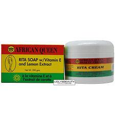 African Queen Rita Cream 8 Oz + Rita Soap 200 grams Duo