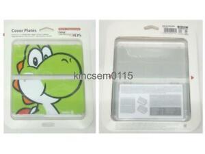 New Nintendo 3DS Kisekae Cover Plates No.004 3D Yoshi 2014 Mario Pokemon Zelda