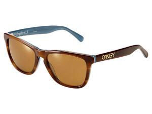 Oakley Frogskins LX Sunglasses OO2039-03 Tortoise Blue/Dark Bronze Asian