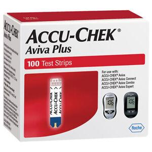 ACCU CHEK AVIVA PLUS 10/31/2022 Factory Sealed Excellent condition 100 Count