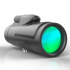 HOT!Monocular Telescope 12x50 High Power BAK4 Prism Waterproof w/ Tripod Camera