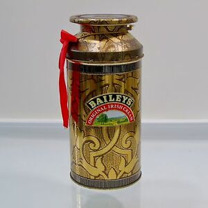 1992 Christmas Edition Baileys Aluminum Tin Original Irish Cream Empty Tin