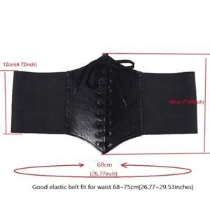 PU leather corset belt, waist training belt