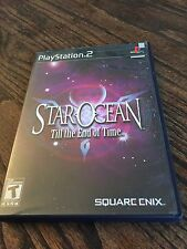 Star Ocean Till The End Of Time Sony PlayStation 2 PS2 Complete Works PG1