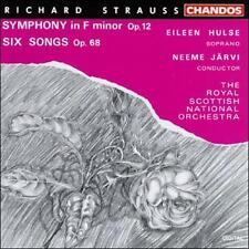 Strauss Symphony in F minor / Six Songs op 68 - Jarvi - VG++ RARE AT THIS PRICE