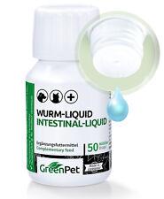 Wurm Liquid flüssig bei und nach Wurmkur Entwurmung Würmer - 50ml für Hund Hunde