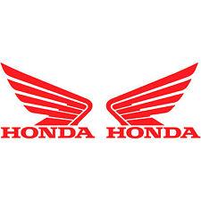 "2x Honda Motorcycle Wing Logo 2"" Vinyl Decal Sticker Car Truck Window Racing"