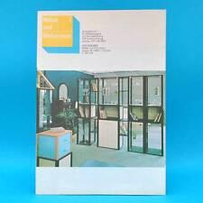 DDR Möbel und Wohnraum 7/1986 Liegen Calypso Modell 5074 Trieste Wohnen Dach
