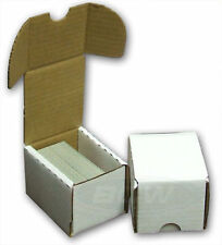100 Count Cardboard Card Storage Box - Holds 125 Standard or 200 Gaming Cards