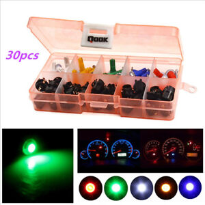 30 set T5 1SMD 5050 Car Motorcycle Instrument Panel Cluster Gauge Dash LED Light