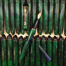 Stylo Plume Reynolds Encre Écriture Ancien Vintage École Papeterie Vert 1990