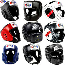 FAIRTEX MUAY THAI HEADGEAR HEADGUARD BOXING MMA SPARRING FULL KICKBOXING BUAKAW