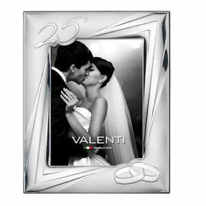 Cornice Valenti Nozze D'Argento 25° Anniversario Matrimonio 13*18 + Specchio