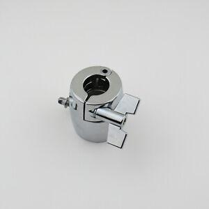 "Drum Rack Clamp Drum Rack Bracket Tube Pipe Bracket Chrome Diameter 1.5"" to 7/8"""