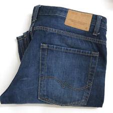 JACK & JONES Clark Mens  jeans Size 34x30 straight button fly