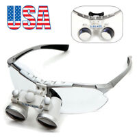 Dental Surgical Medical Binocular Loupes 3.5X 420 Optical Glass Loupe Magnifier