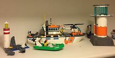 Lego City Coast Guard Patrol 60014 COMPLETE SET w/instructions. From COLLECTOR.