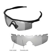 New WL Polarized Transition/Photochromic Vented Lenses 4 Oakley M Frame Strike