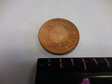ALABAMA COIN & SILVER CO. HUNTSVILLE,ALA. 50 CENT TOKEN
