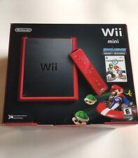 Nintendo Wii Mini 8GB Red Console