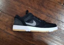 sports shoes 0a7ee 0594b NIKE MENS SB AIR FORCE II LOW Size 12 AO0300 001 Black No Lid