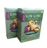 The Ginger Gente GINEBRA Gins ORIGINAL Jengibre CHICLES 2x84g - Sin Gluten