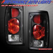Set of Pair Black Altezza Style Taillights for 1986-1993 Mazda B-Series Pickup