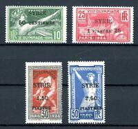 Syrien MiNr. 227-30 postfrisch MNH Paris 1924 (Oly2249