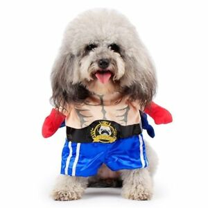 Costumes Boxer Suit Pet Clothing Props Halloween Uniform For Puppy Dogs Cats