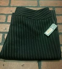 Copper Key Black Striped Dress Pants Women's Size 9/10