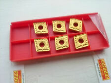 6 Sandvik carbide tips CNMG 12 04 12-SM 235 ( CNMG120412 120412 CNMG433 433 )