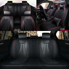 Luxury PU leather car seat cover For 5 seats car cushion accessories comfortable