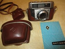 Agfa Optima 500 35 mm Film Camera  w case & flash
