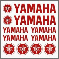10x ADESIVI Rosso compatibile YAMAHA XT 660 1200 Z TMAX TDM XV YS WR Majesty FZ