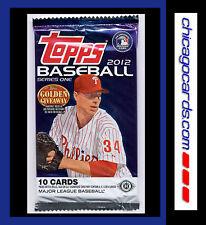 2012 Topps Baseball Series 1 One 10-card HOBBY Pack