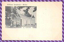 Carte Postale - Château de Loudenne - Médoc - la terasse