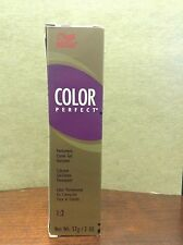 Wella Color Perfect Permanent Creme Gel Hair Color 1:2 G Gold Intensifier