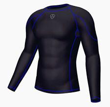 Vêtements de fitness bleu taille L pour homme