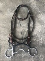 Parelli Complete Cradle Bridle with C3 Bit and9-Foot black Finesse Reins.