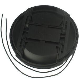 Wholesale Plastic 58 mm Front Lens Caps Center Snap on Lens Cap For Nikon Camera