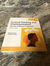 New Critical Thinking And Communication Global 7th Edition Book